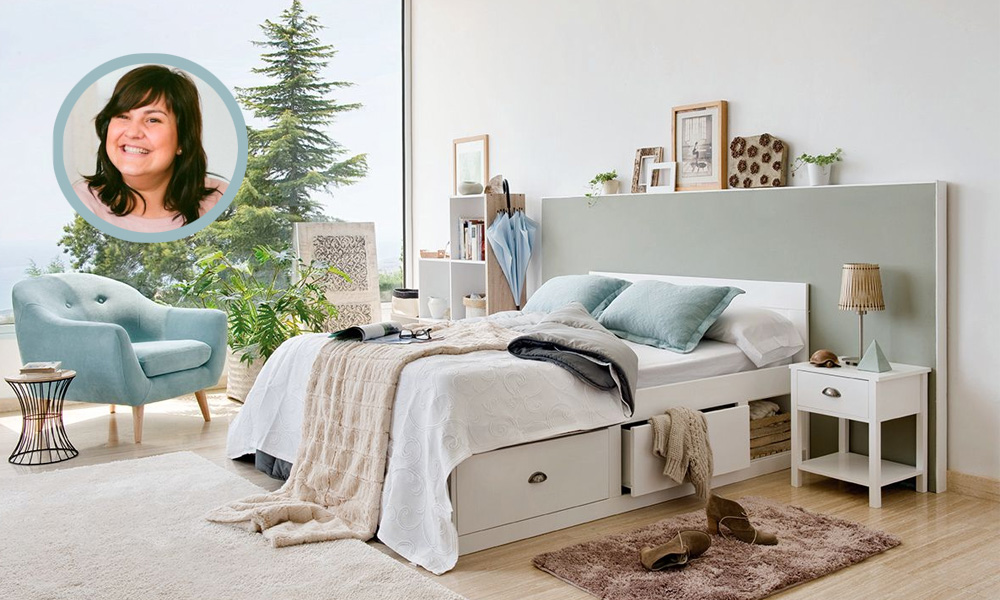 habitacion estilo nordico