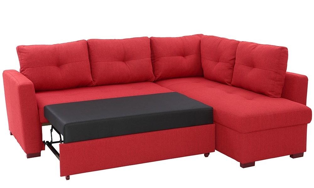 Sofá de canto com cama reversível OSCAR