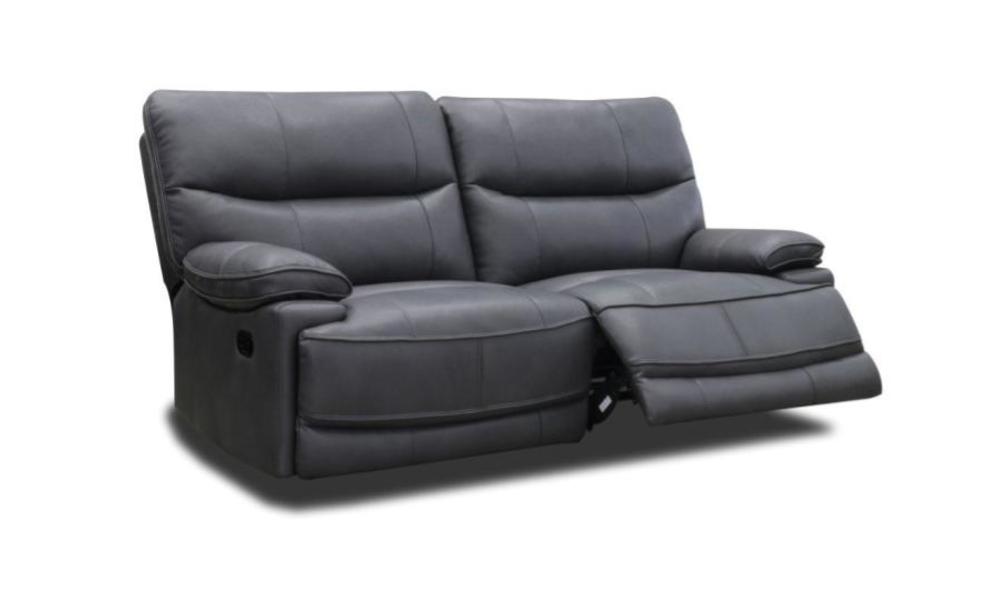 Sofá relax eléctrico de pele 3 lugares MASTER
