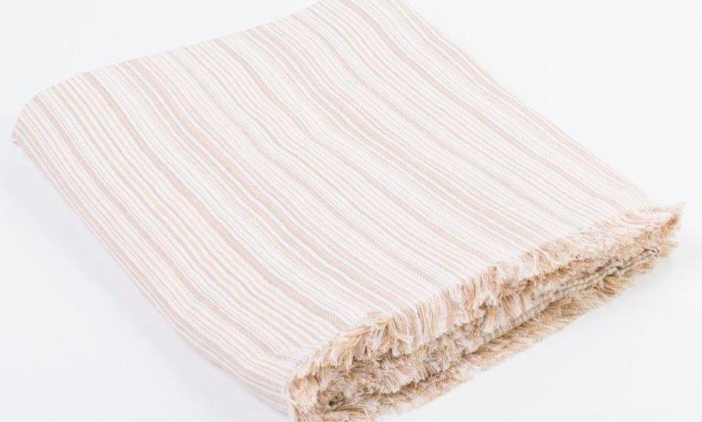 Têxteis manta Plaid multiusos RAYAS Conforama