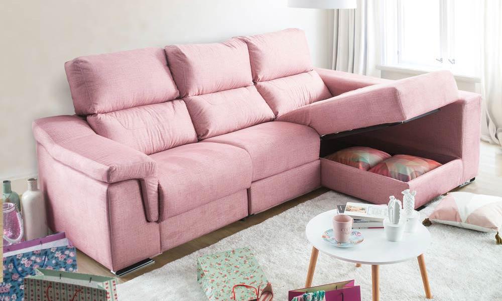Salas em tons de rosa