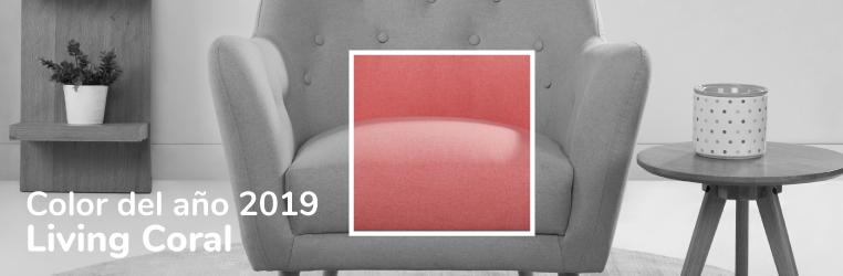 Apuesta por el color Pantone 2019 en la decoración de tu casa con Conforama