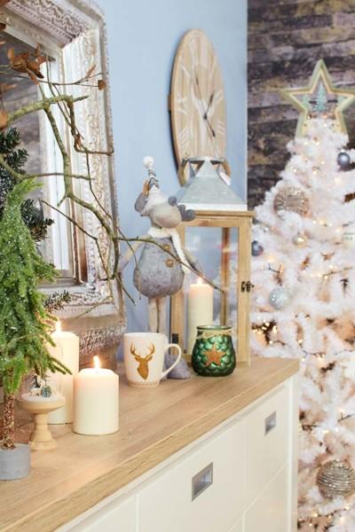Decoração estilo nórdico para este Natal Conforama
