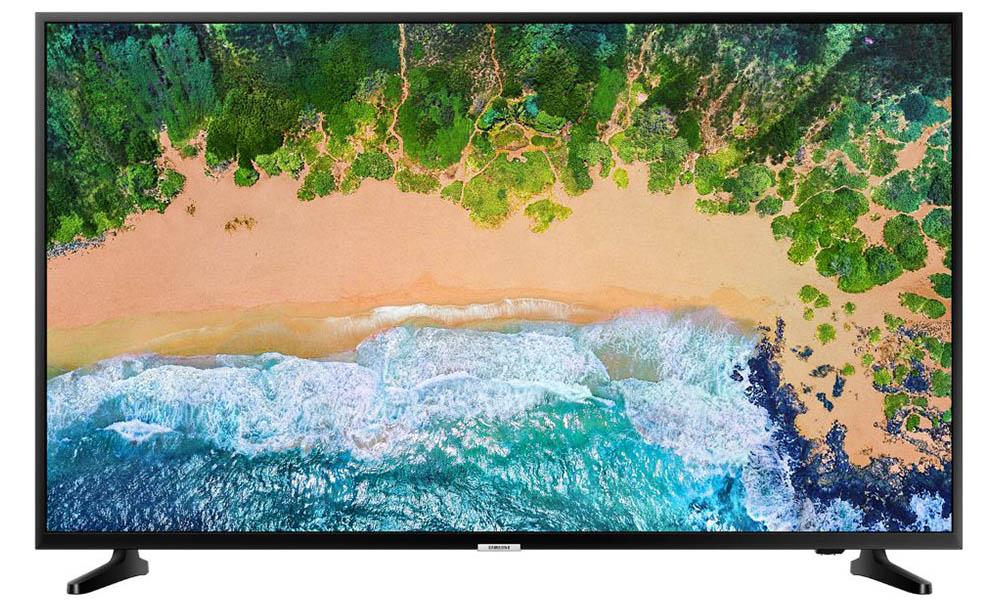 Televisor SAMSUNG UE43NU7092UXXH de Conforama con 43 pulgadas y resolución Ultra HD 4K