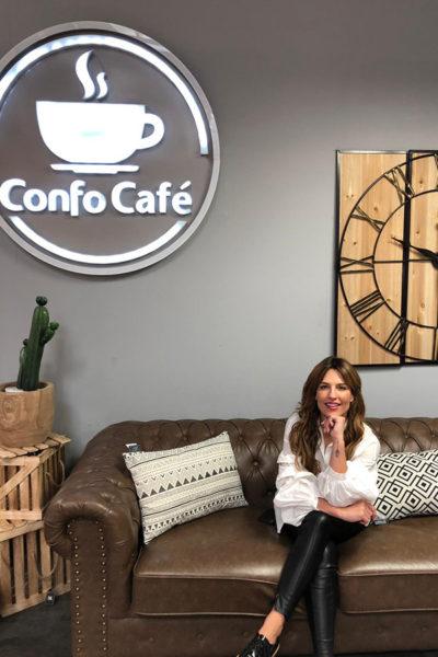 Ana Rita Clara, apresentadora e influencer, visita a nossa loja Conforama Amadora