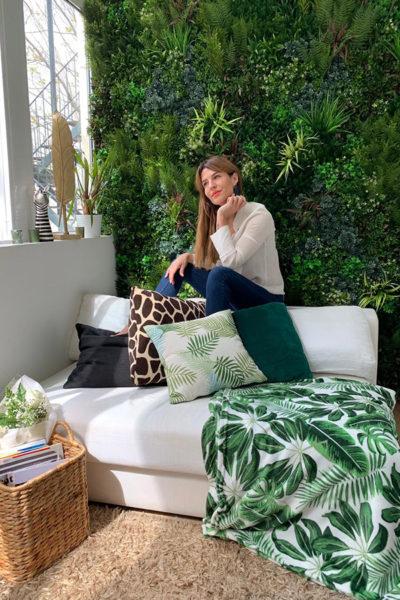 O jardim de Ana Rita decorado com produtos Conforama por menos de 100€
