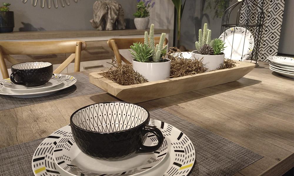 Detalhes para conseguir a mesa perfeita com a Conforama