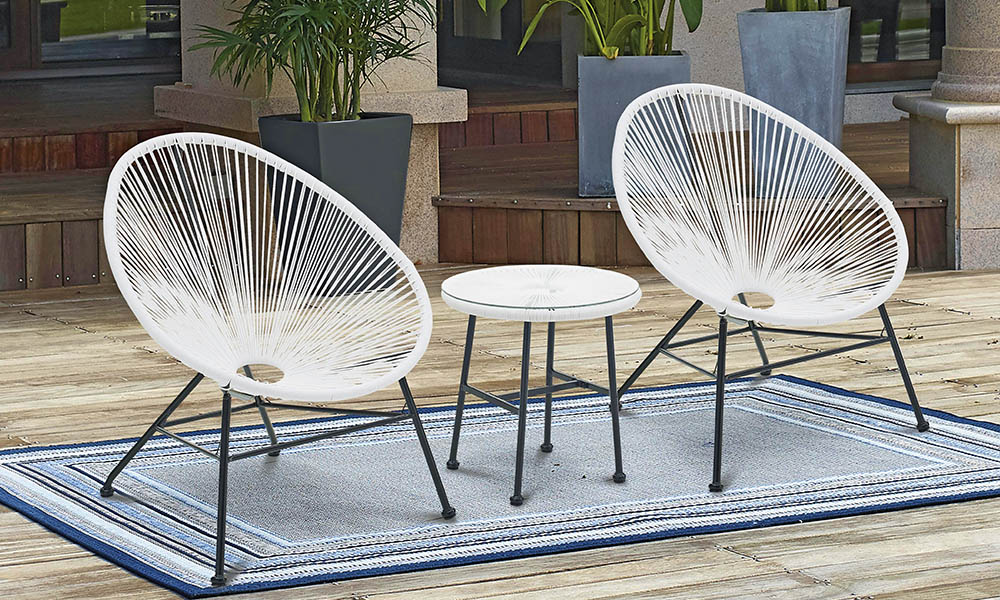 Cadeirae mesa de jardim ACAPULCO