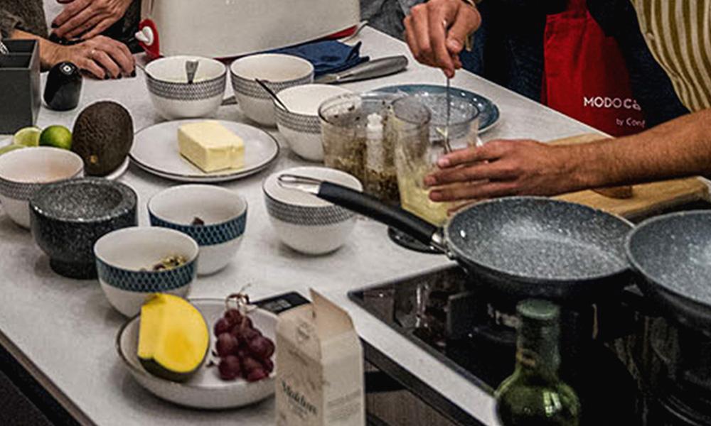Utensíliosde cozinha da linha MASTERPRO na Conforama