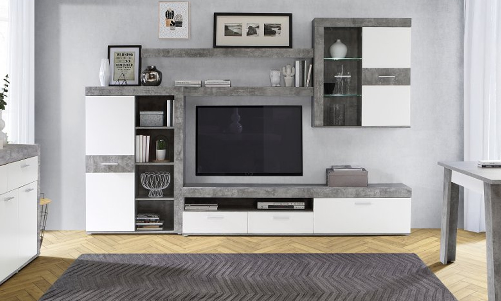 Sala AKRON um amor à primeira vista nos nossos saldos em móveis