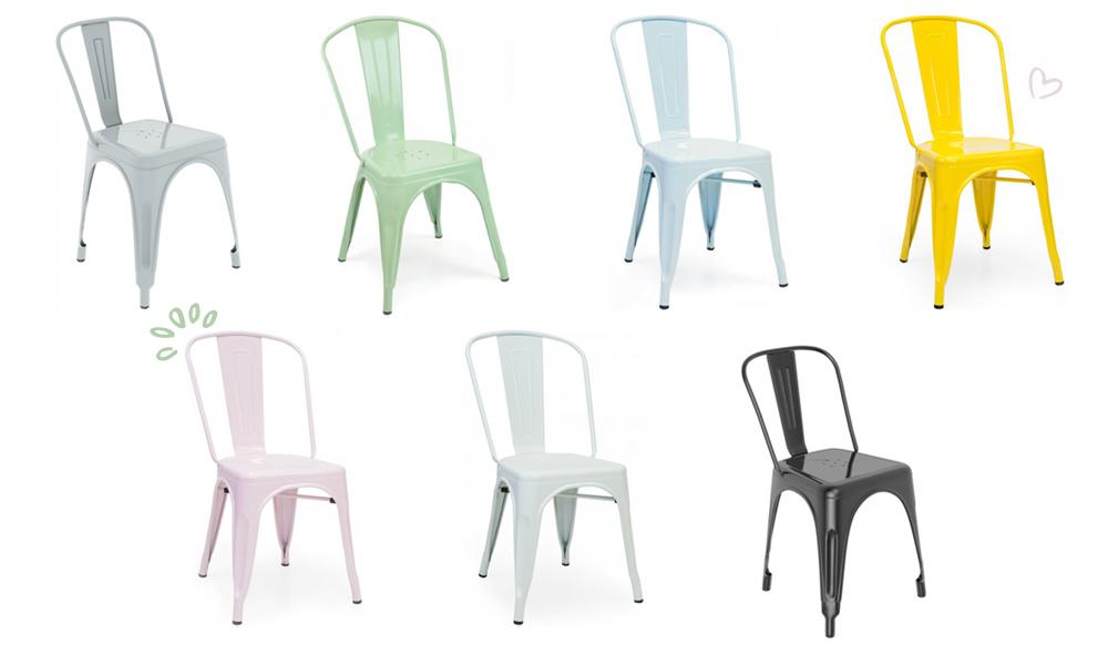 A cadeira de cozinha BISTRO une a funcionalidade e comodidade
