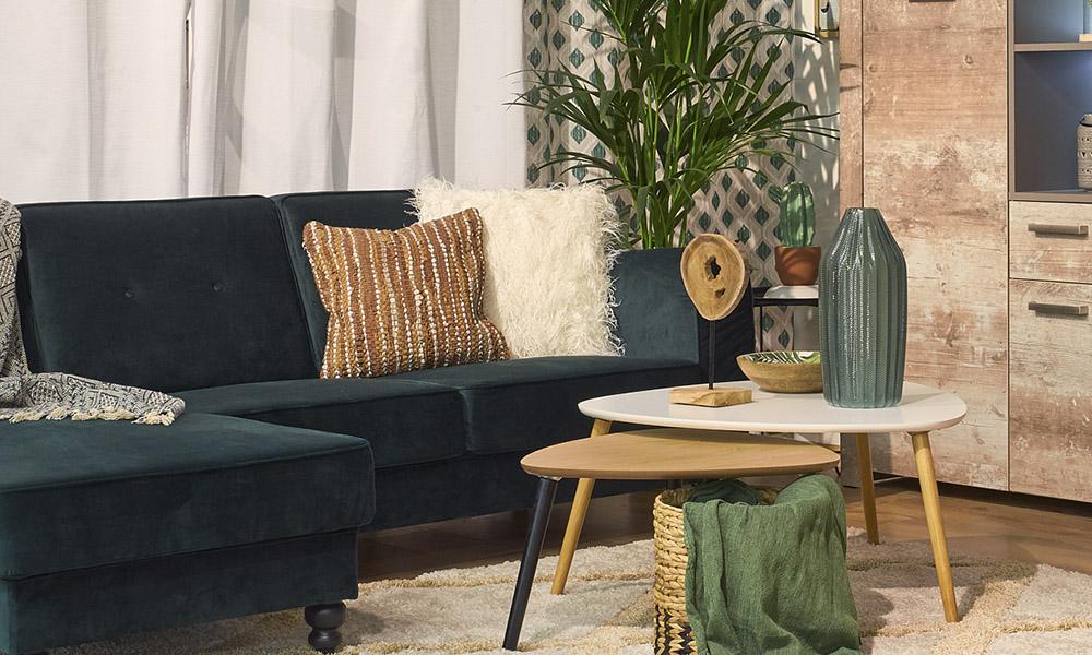 A almofada CUERO e a almofada ZOTTEL, opções perfeita para dar personalidade ao seu espaço