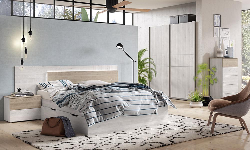 Dormitorio MÓNACO Conforama
