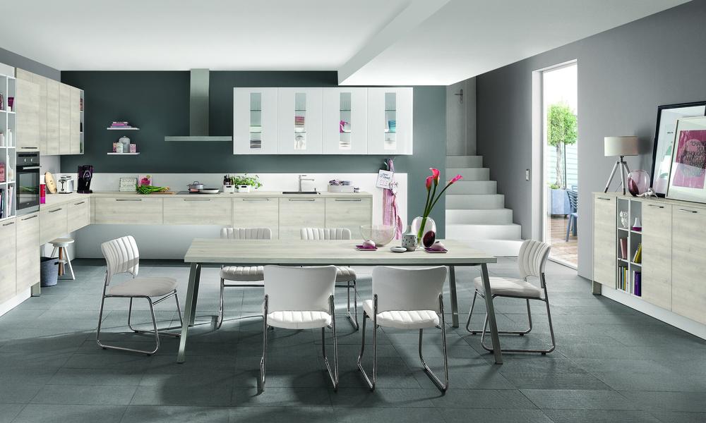 sala e cozinha open space
