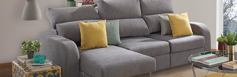 sofas para salones pequeños