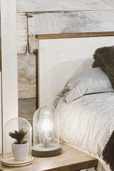dormitorio matrimonio madera ilu