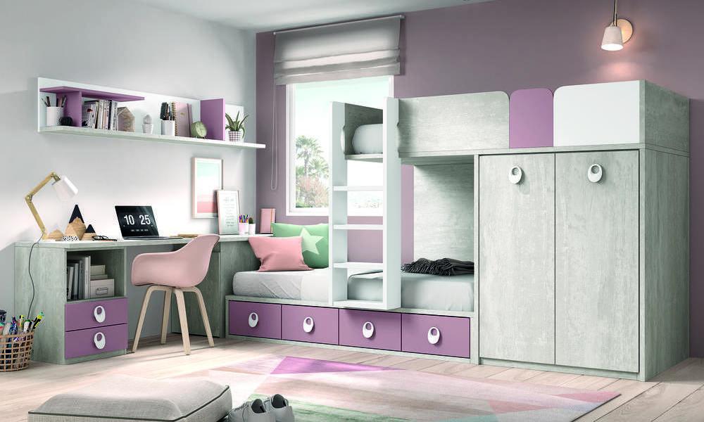 quartos com beliche - COLORS