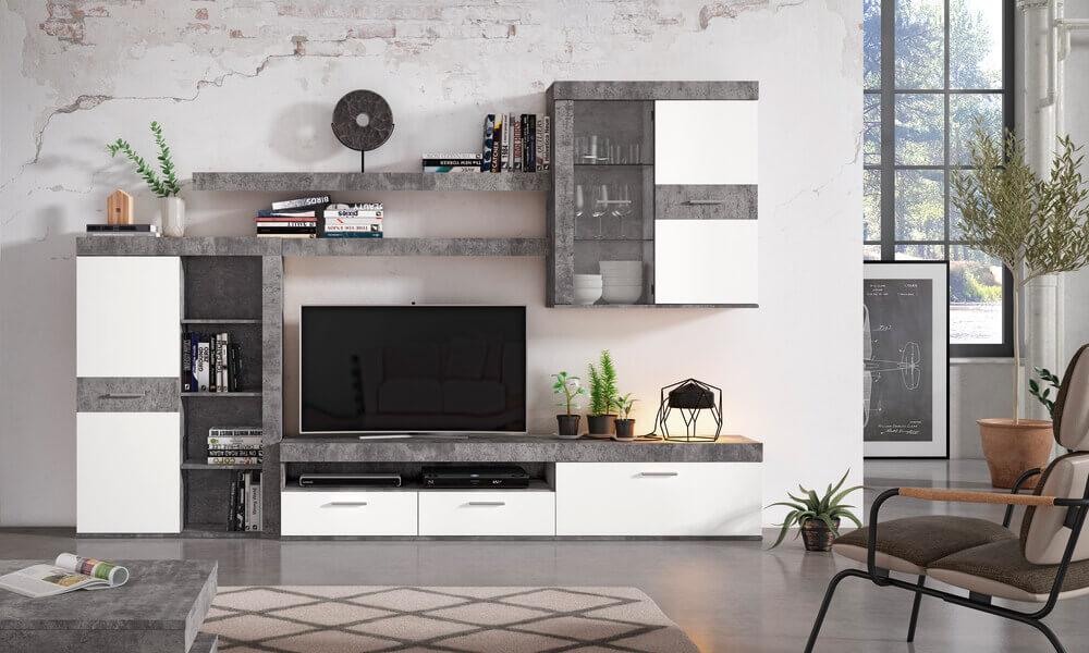 móveis de entrada moderna