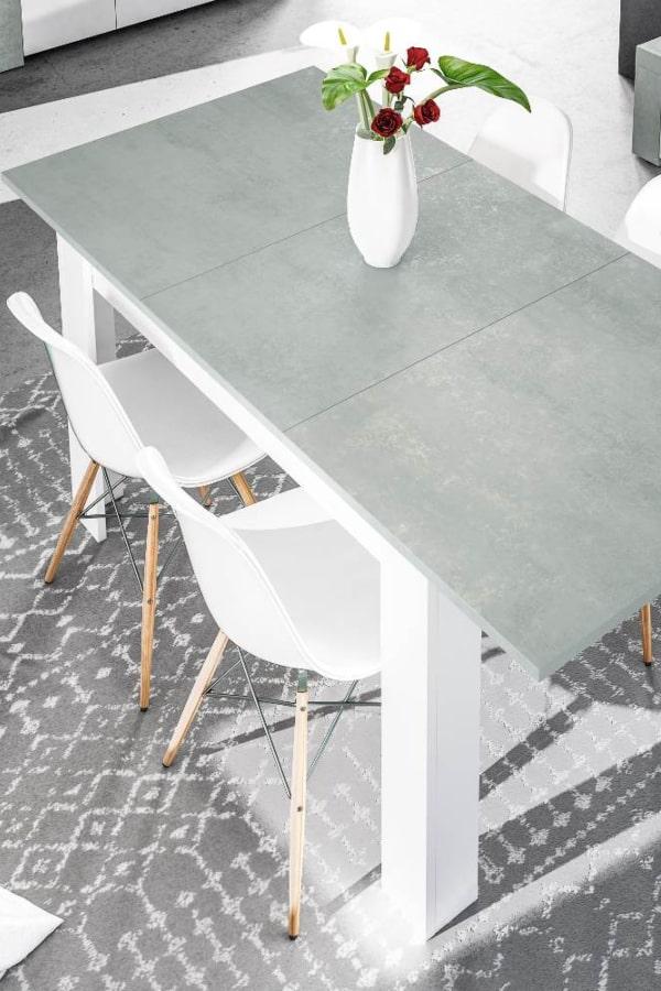 mobiliario blanco salones