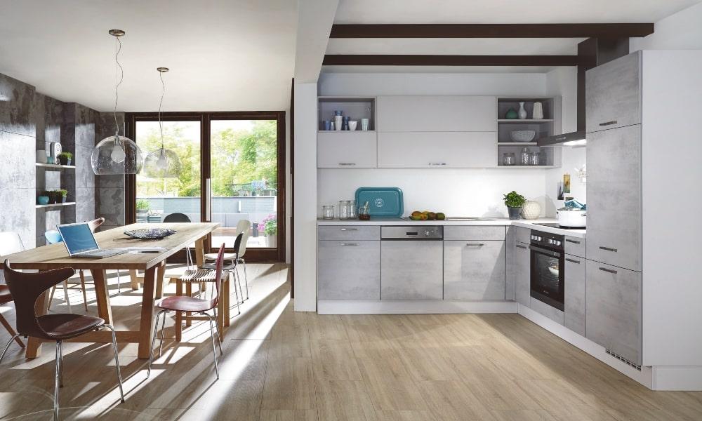 aprovechar esquina cocina con cocina a medida