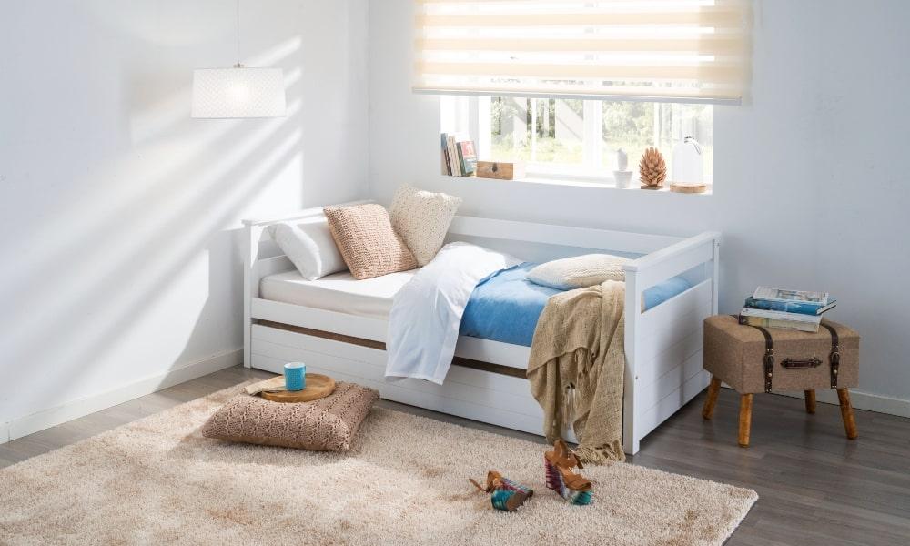 como lavar almohadas infantiles dormitorio cama nido