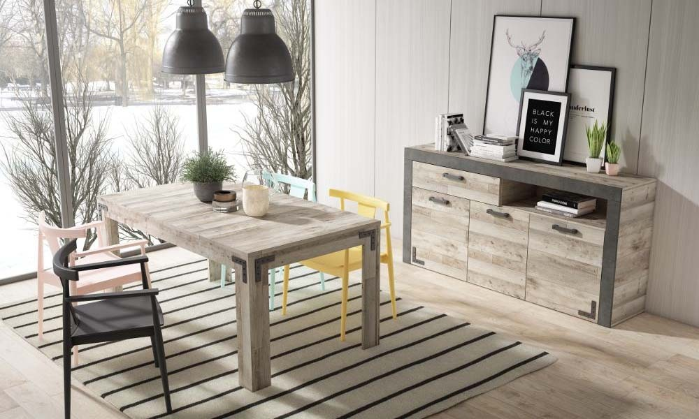 Como restaurar móveis antigos - sala de jantar