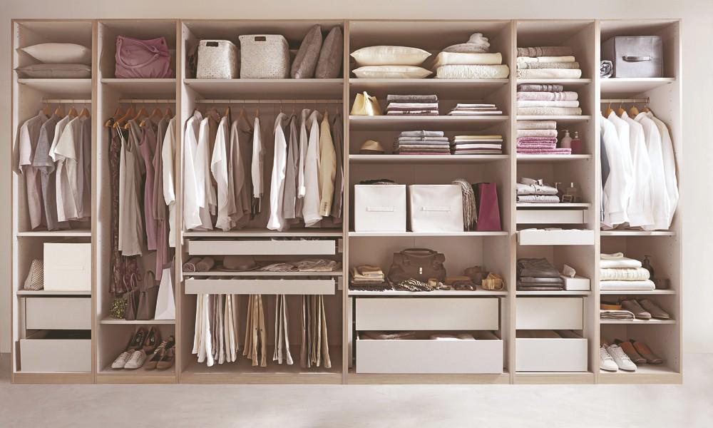 charriot para roupa - organização