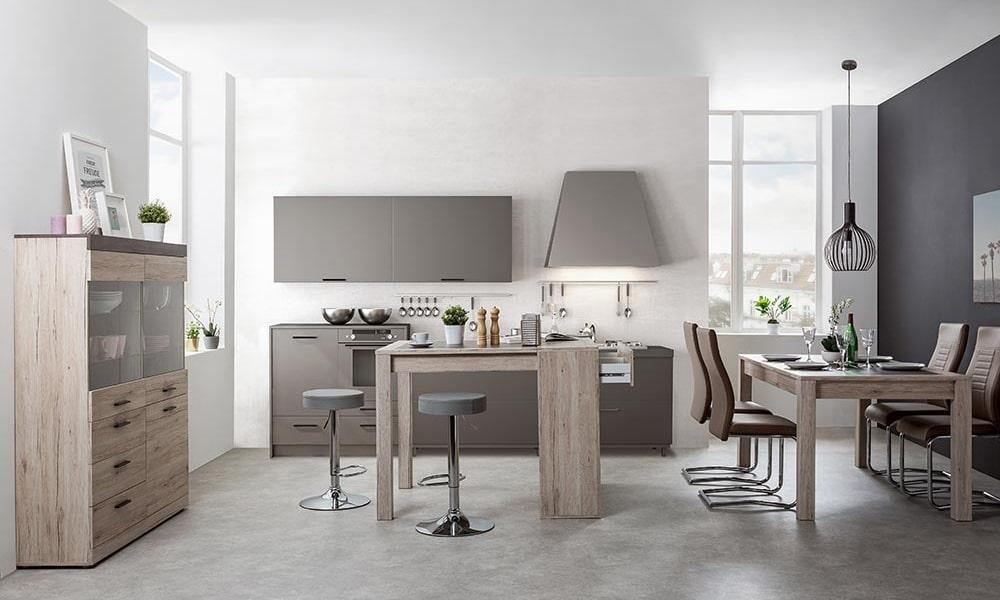 mobiliario versatil cocina abierta o cerrada