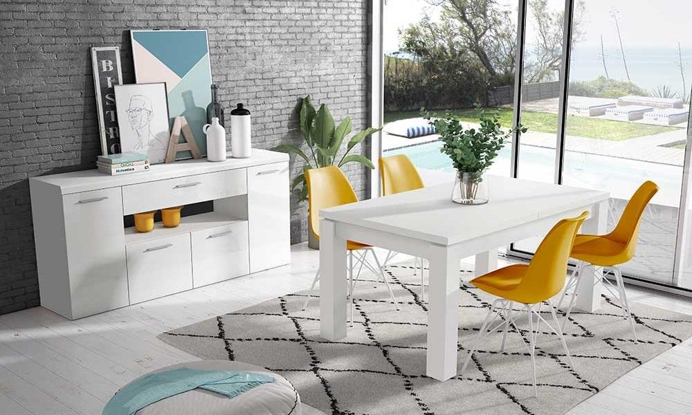 como pintar muebles en blanco