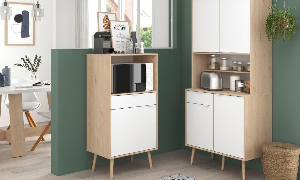 pintar muebles de color blanco
