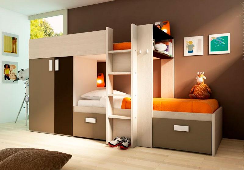 Decoraci n de paredes ideas para habitaciones infantiles - Dormitorios infantiles conforama ...