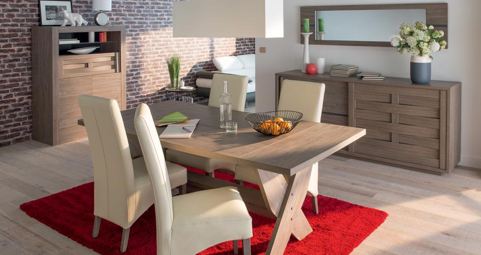 Mesas modernas para cocina en conjunto con las mesas - Sillas blancas conforama ...