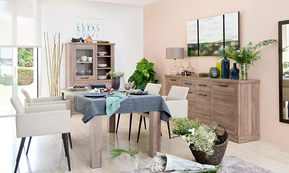 adornos mesas de comedor - Mesas de comedor Conforama