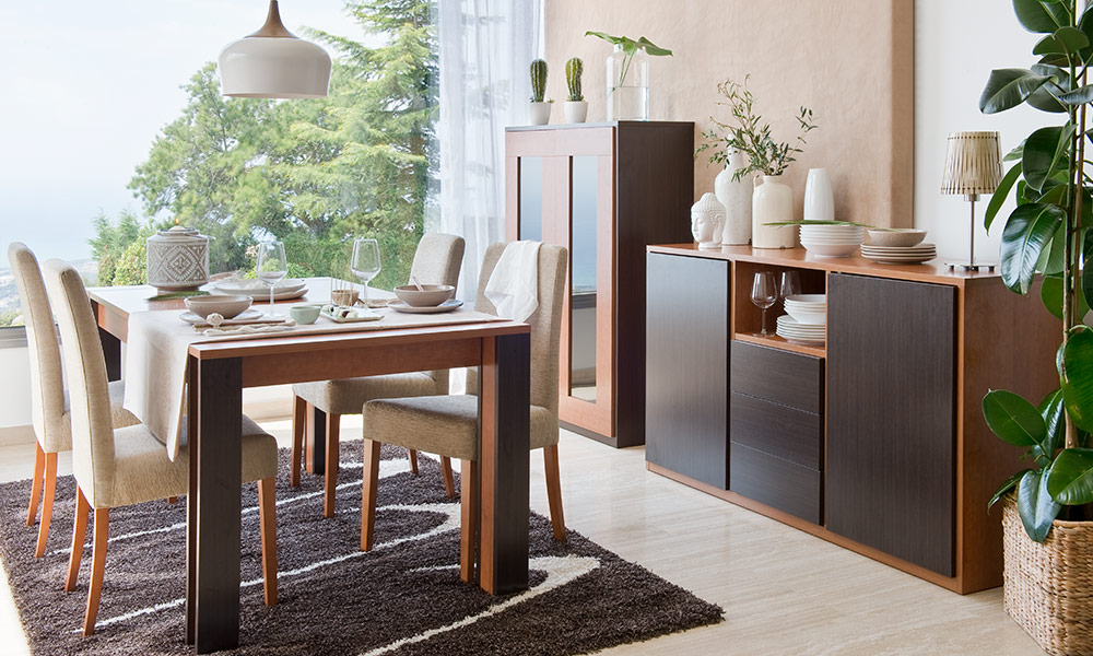 adornos mesas de comedor