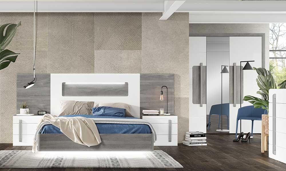 Cómo decorar habitaciones de matrimonio modernas, como el TIZZIANO