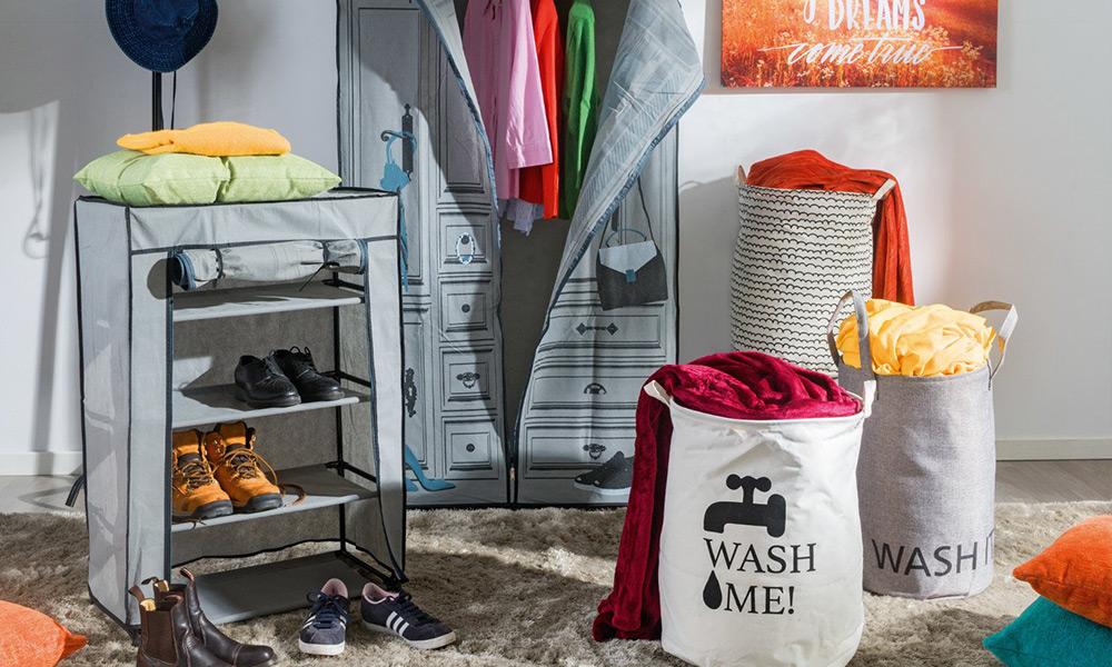 Surtido cesto para la ropa WASH IT de Conforama