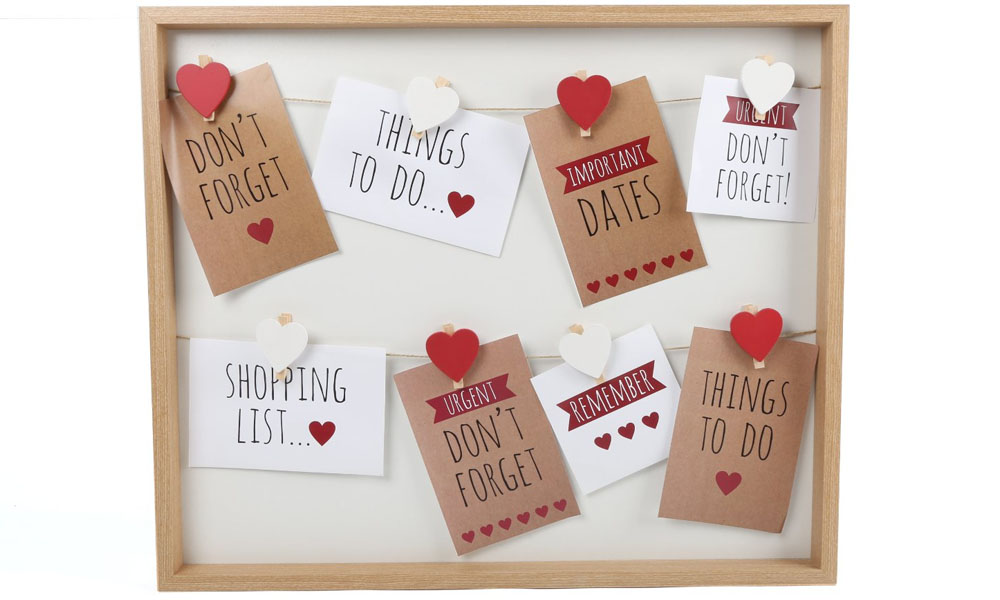 Multifoto de pinza CORAZÓN como idea para regalar en San Valentín