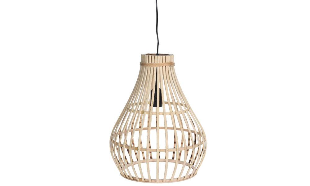 Lámpara de techo BAMBOO de Conforma, con aire étnico y moderno