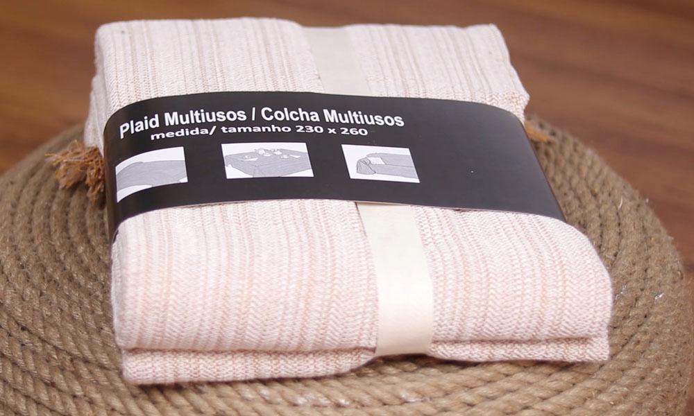 Colcha plaid multiusos 230x260 cm RAYAS de Conforama
