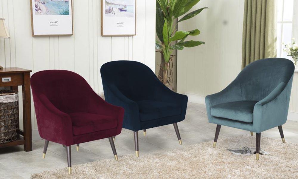 Descuentos adicionales en una selección de sillones decorativos durante los TIC TAC Days de Conforama