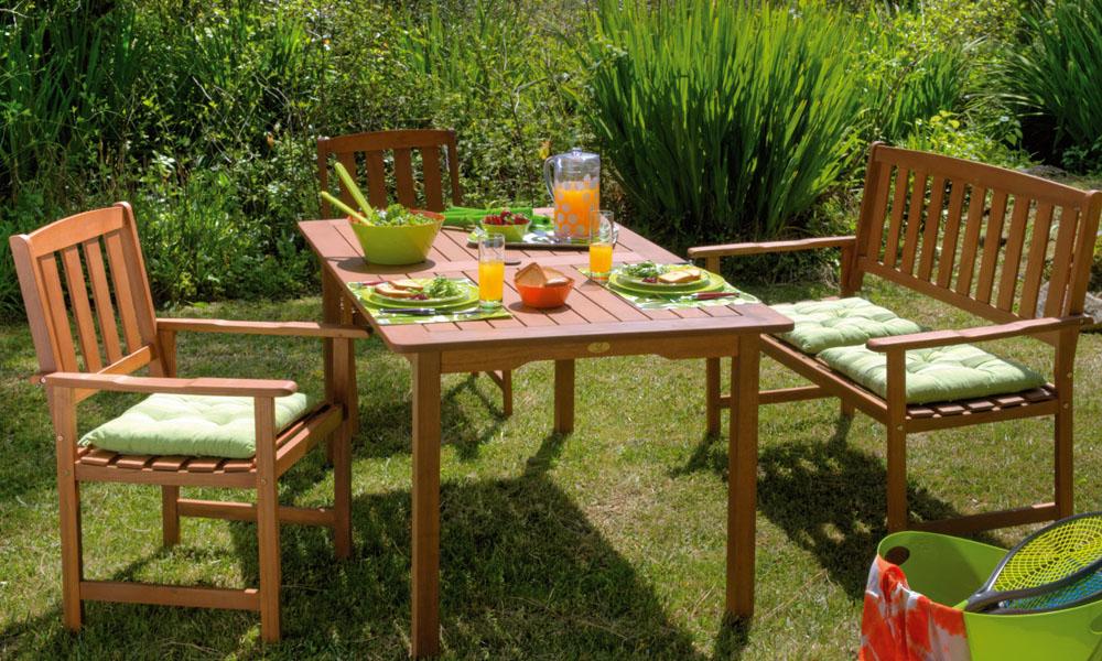 Conjunto mesa, banco y 2 sillas NEW YORK