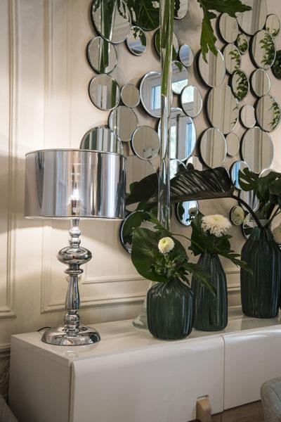 como decorar un espejo