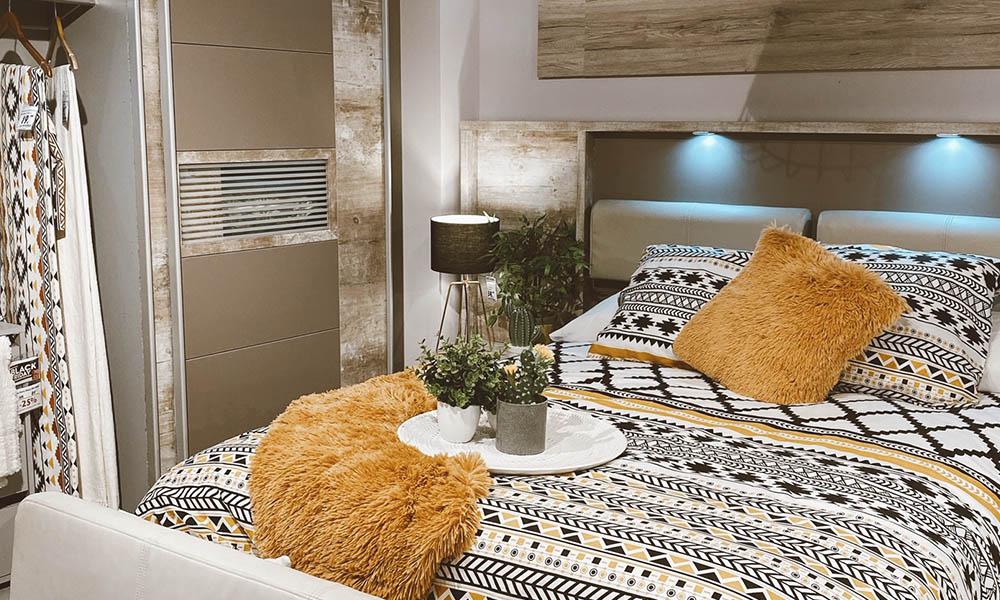 dormitorio matrimonio madera