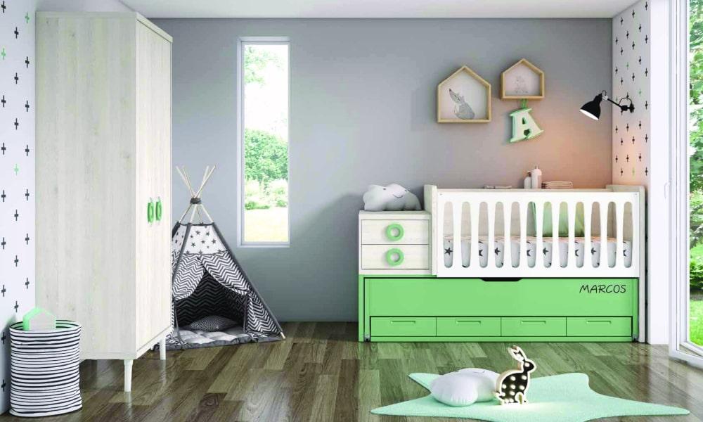 como decorar habitacion bebe recien nacido