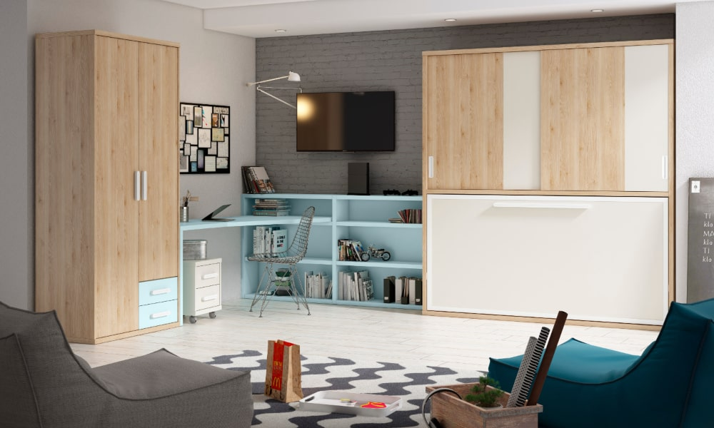 decoracion habitacion juvenil chico ideas