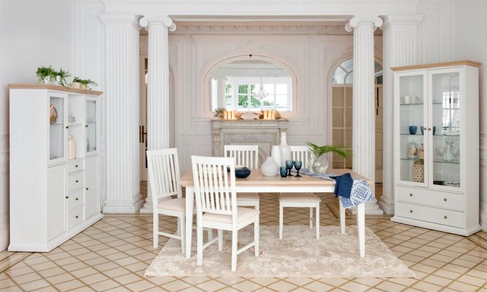 salones modernos blancos pequeños