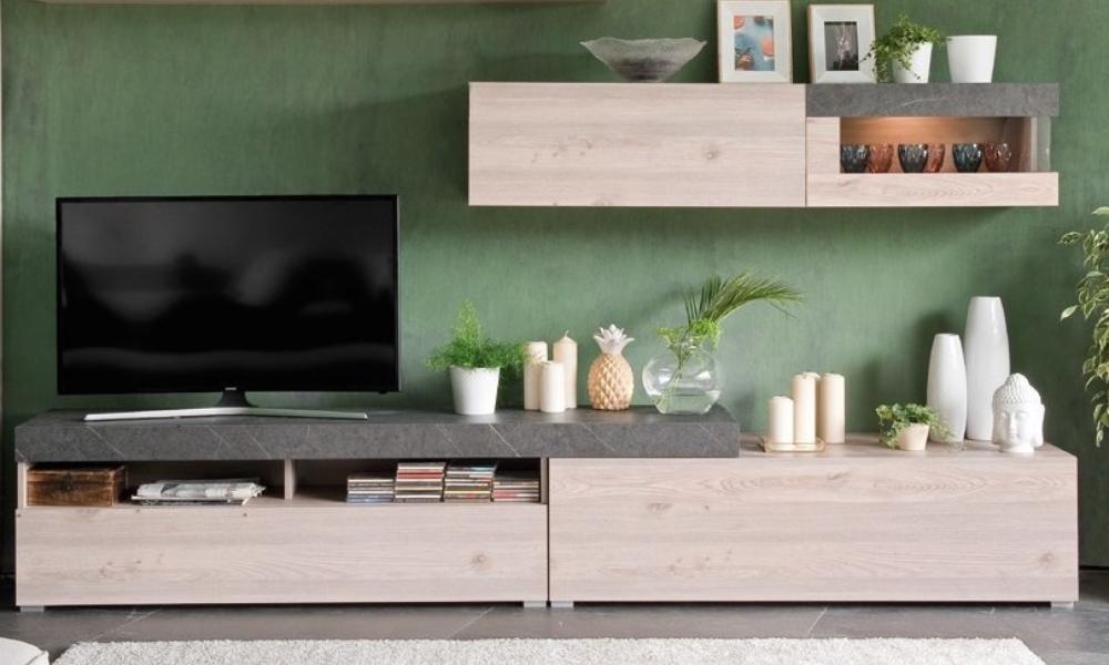 actualizar mueble de salon moderno en color claro