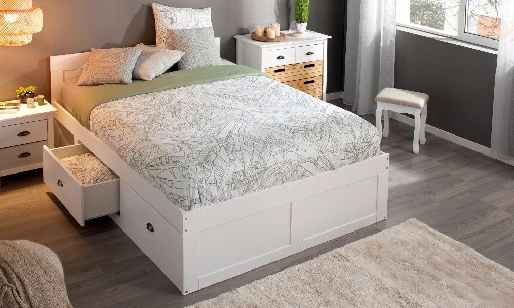 como lavar almohadas dormitorios muebles blancos