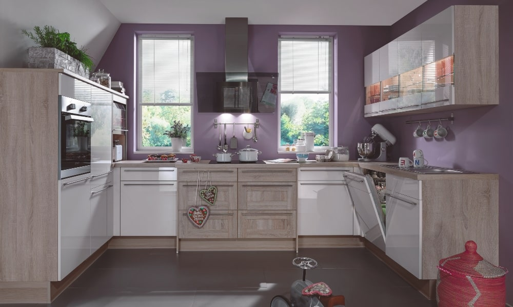 mobiliario rincon con luz integrada para aprovechar esquina cocina