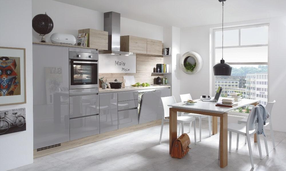 aprovechar esquina cocina con mueble lineal